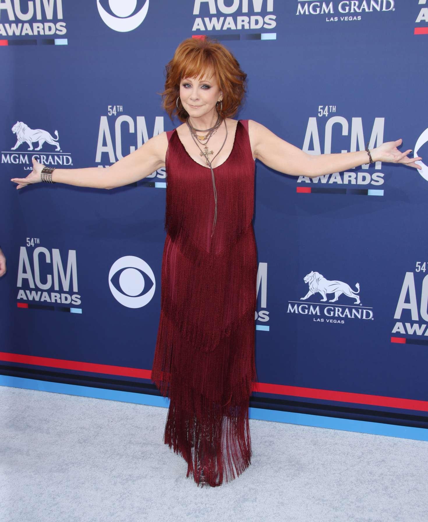 Reba Mcentire 2019 : Reba McEntire: 2019 Academy of Country Music Awards -04