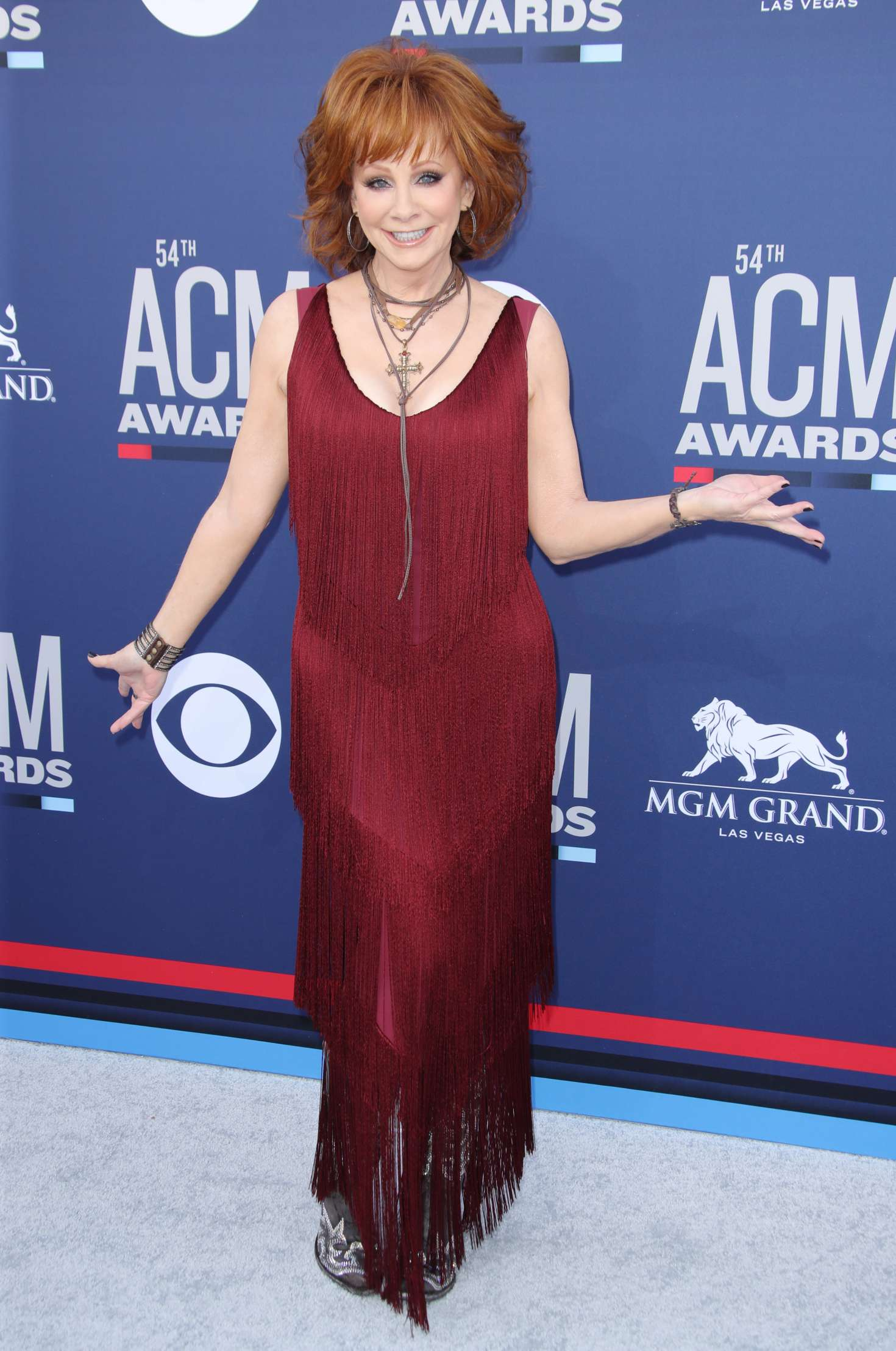 Reba Mcentire 2019 : Reba McEntire: 2019 Academy of Country Music Awards -05
