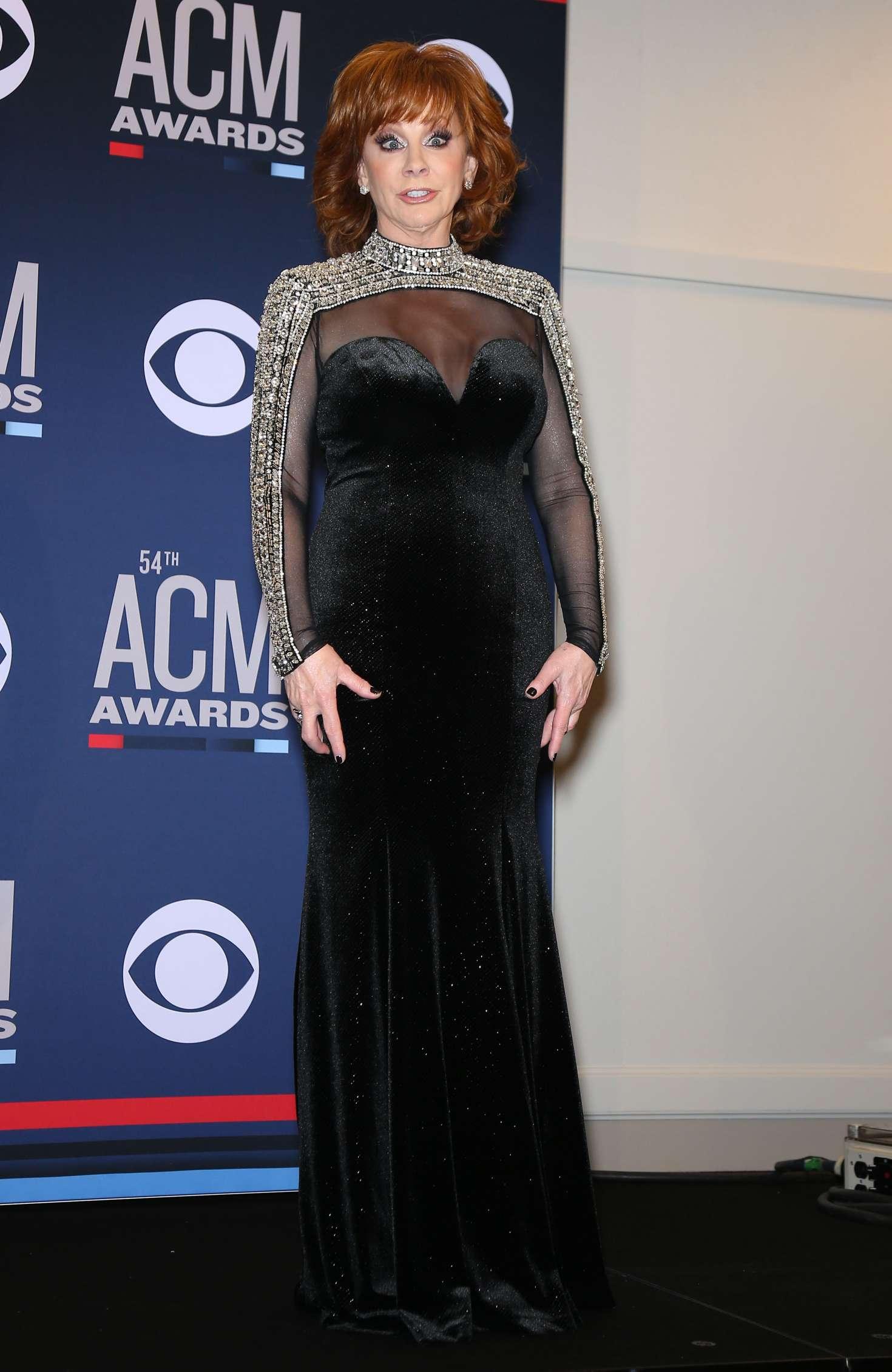 Reba Mcentire 2019 : Reba McEntire: 2019 Academy of Country Music Awards -07