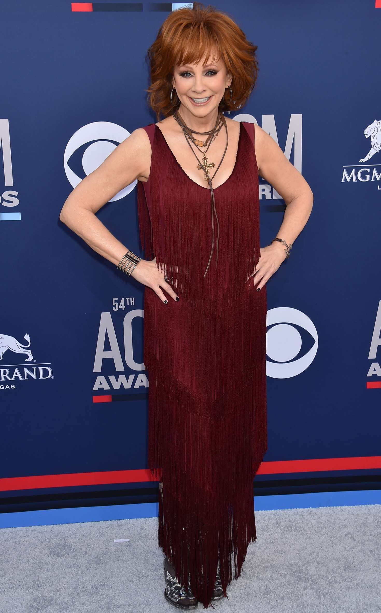 Reba Mcentire 2019 : Reba McEntire: 2019 Academy of Country Music Awards -09