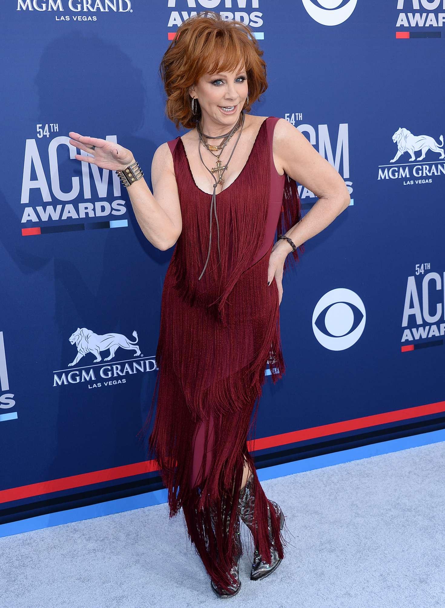 Reba Mcentire 2019 : Reba McEntire: 2019 Academy of Country Music Awards -10