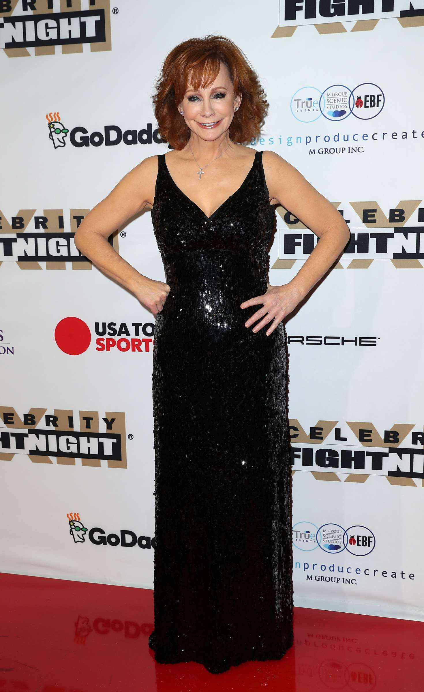 Reba McEntire - Muhammad Ali's Celebrity Fight Night in Arizona