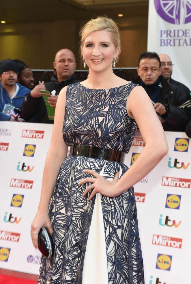 Rebecca Adlington - 2015 Pride of Britain Awards in London