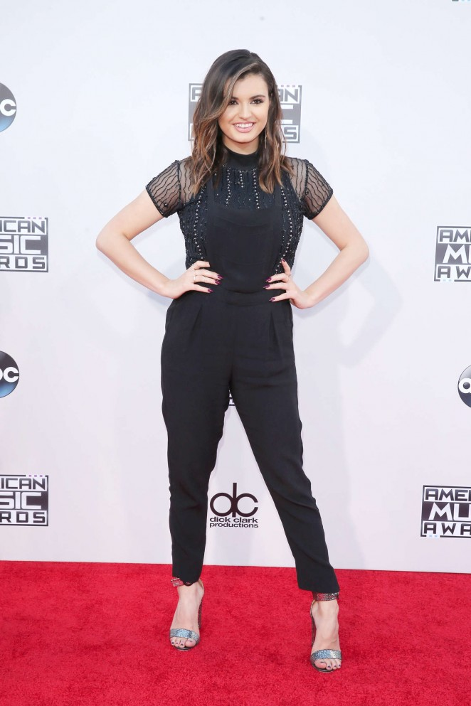 Rebecca Black - 2015 American Music Awards in Los Angeles