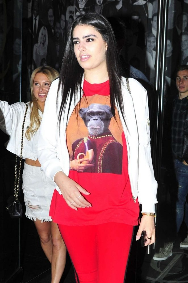 Rebecca Black at Cath LA Restaurant in West Hollywood