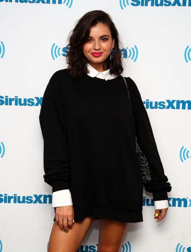 Rebecca Black – Visits the SiriusXM studios in NYC