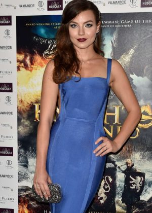 Rebecca Dyson Smith - 'Knights of the Damned' Premiere in London