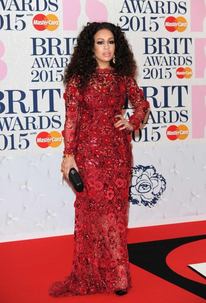 Rebecca Ferguson - 2015 BRIT Awards in London