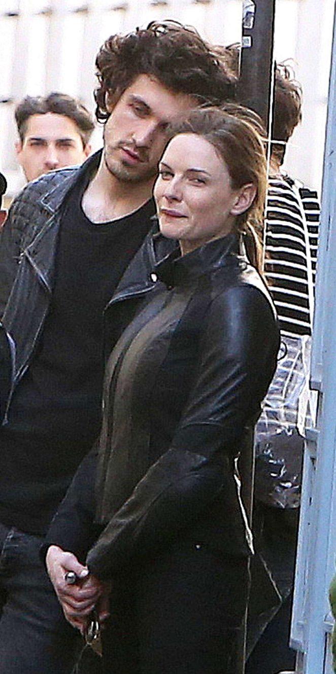 Rebecca Ferguson and h...