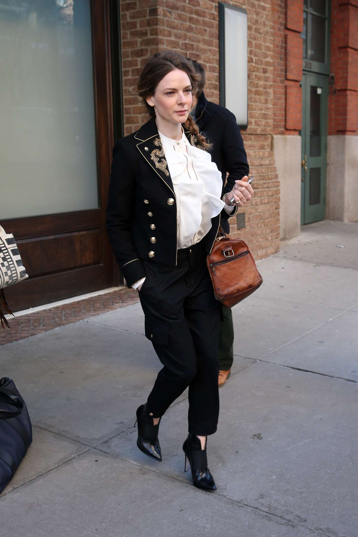 Rebecca Ferguson Leaves Her Hotel In New York City