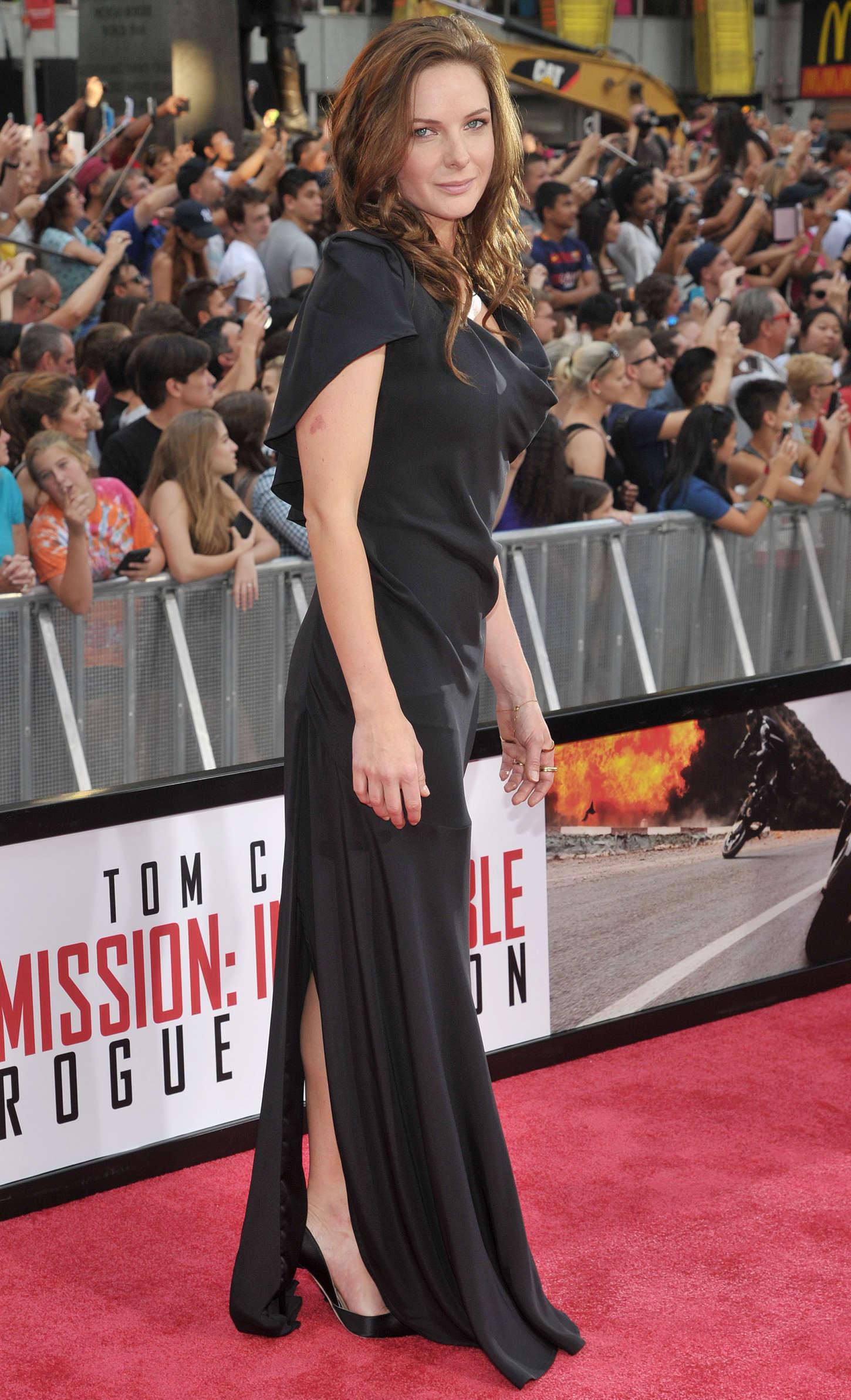 Rebecca Ferguson Mission Impossible Rogue Nation Ny