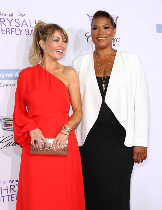 Rebecca Gayheart and Queen Latifah - 15th Annual Chrysalis Butterfly Ball in LA