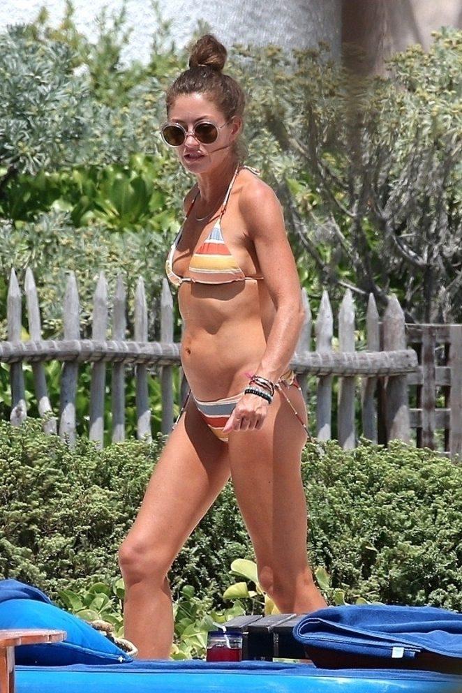 Rebecca Gayheart in Bikini in Mexico