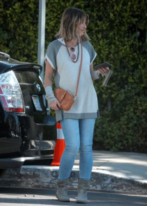 Rebecca Gayheart in Jeans out in Beverly Hills