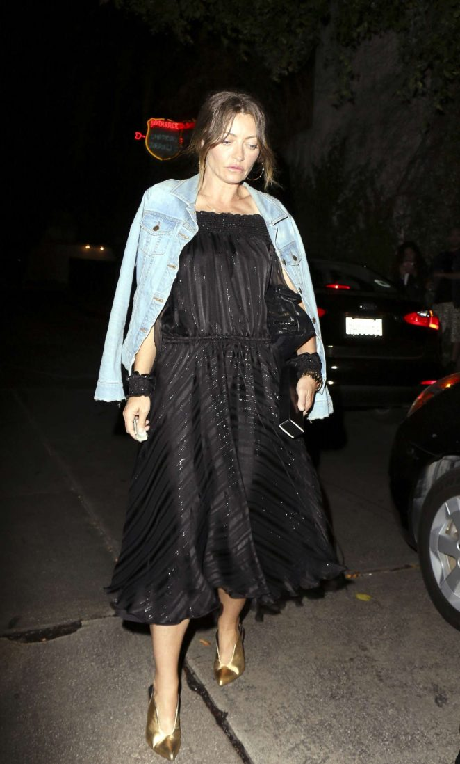 Rebecca Gayheart - Leaving the Chateau Marmont in Los Angeles