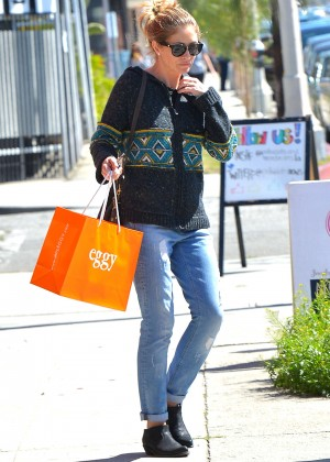 Rebecca Gayheart in Jeans Out in Los Angeles