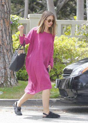 Rebecca Gayheart out in Beverly Hills