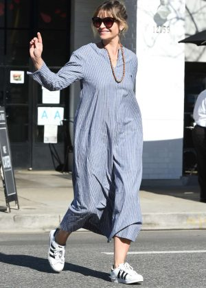 Rebecca Gayheart out to lunch in Los Angeles