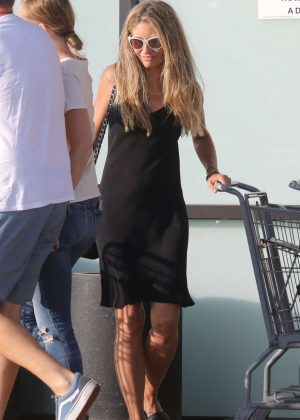 Rebecca Gayheart - Shopping at Trancas Country Market in Malibu