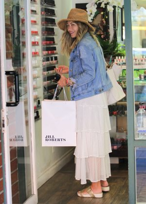 Rebecca Gayheart Shopping in Beverly Hills
