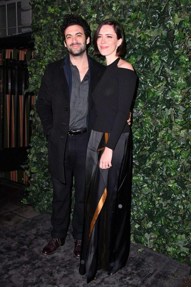 Rebecca Hall - Harvey Weinstein Pre BAFTAs Dinner in London