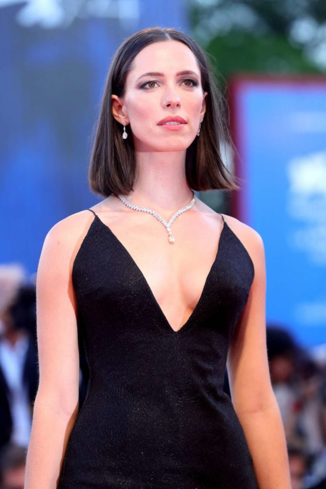 Rebecca Hall - Mother! premiere at 2017 Venice Festival