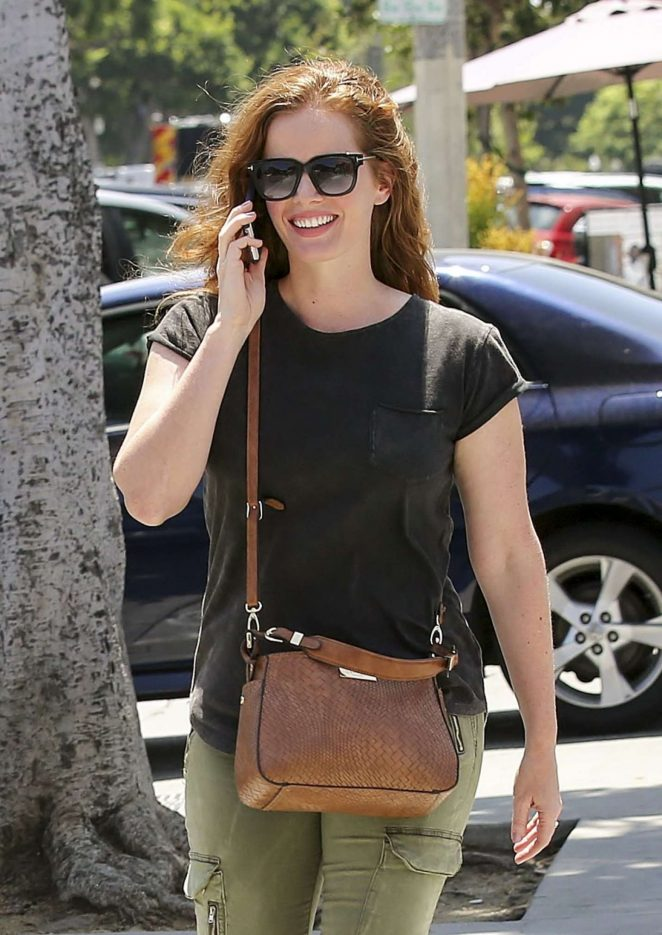 Rebecca Mader Out and about in Los Angeles