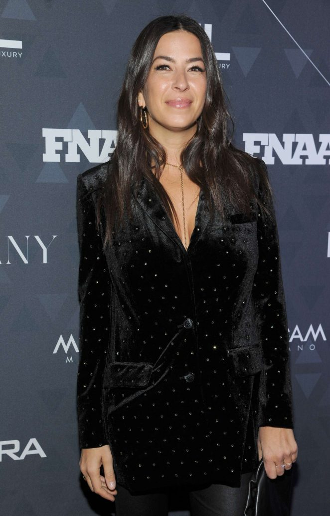 Rebecca Minkoff - Footwear News Achievement Awards in NYC