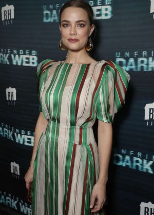 Rebecca Rittenhouse - 'Unfriended Dark Web' Premiere in Los Angeles