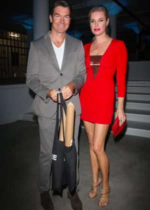 Rebecca Romijn and Jerry O'Connell - Mr Chow 50th Anniversary Celebration in LA