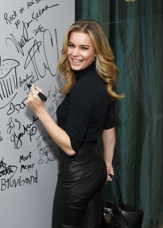 Rebecca Romijn - AOL's BUILD Speaker Series in NYC
