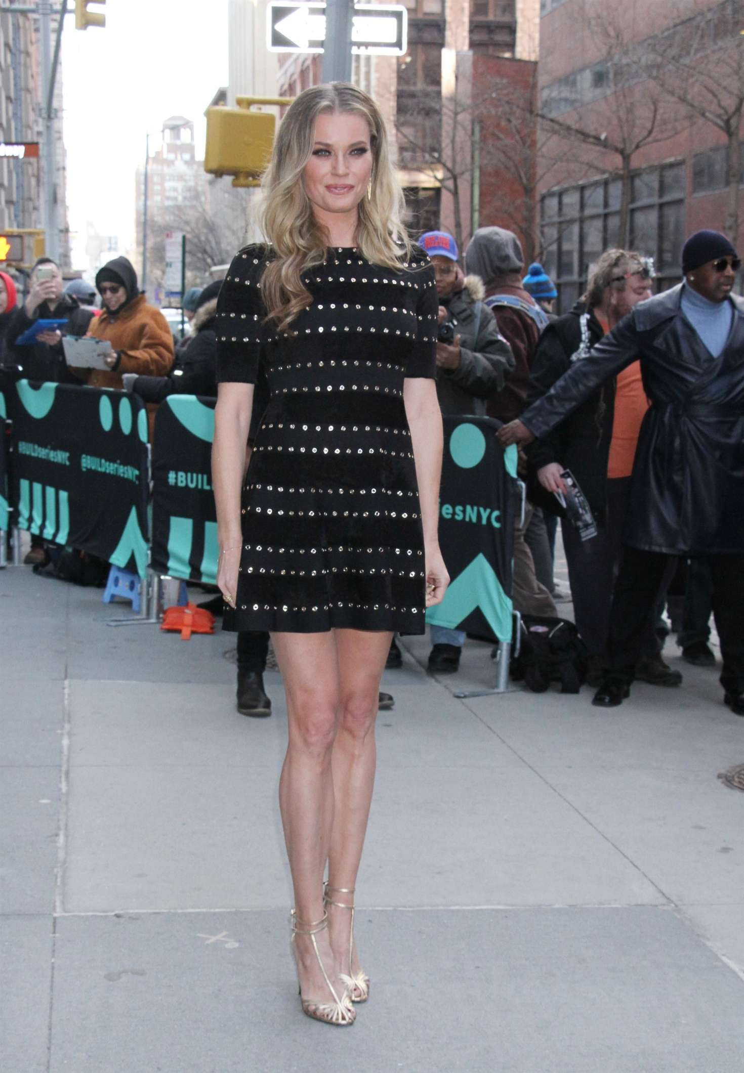 Rebecca Romijn – Arrives at AOL Build Series in New York