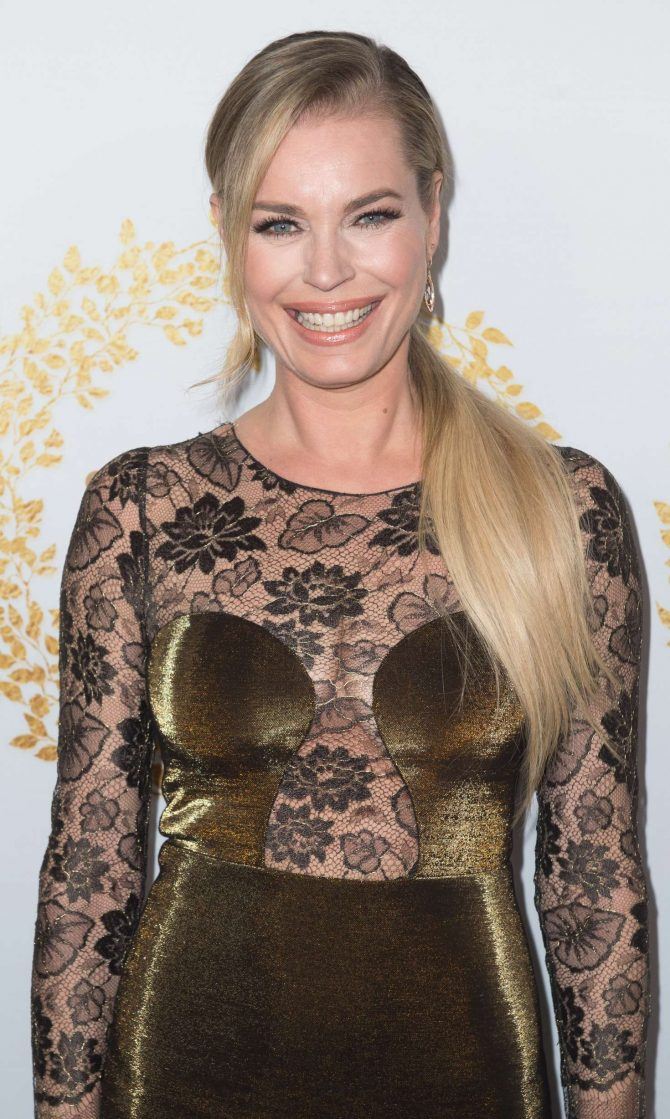 Rebecca Romijn – Hallmark Channel 2019 Winter TCA Tour in Pasadena