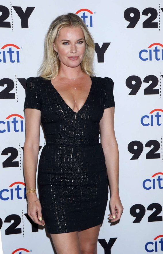 Rebecca Romijn - Jerry O'Connell in Conversation with Andy Cohen in New York
