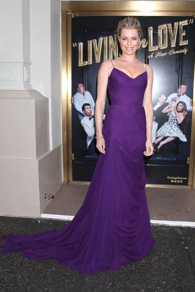 Rebecca Romijn: Living On Love Broadway Opening Night -03