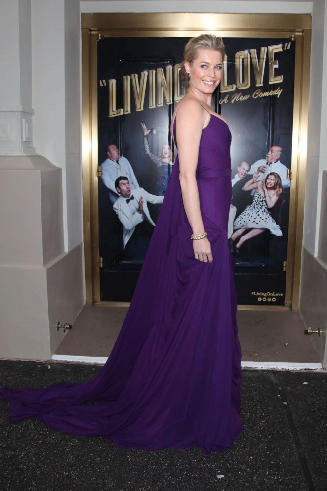 Rebecca Romijn: Living On Love Broadway Opening Night -04