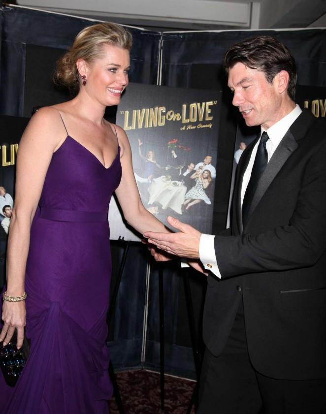 Rebecca Romijn: Living On Love Broadway Opening Night -10