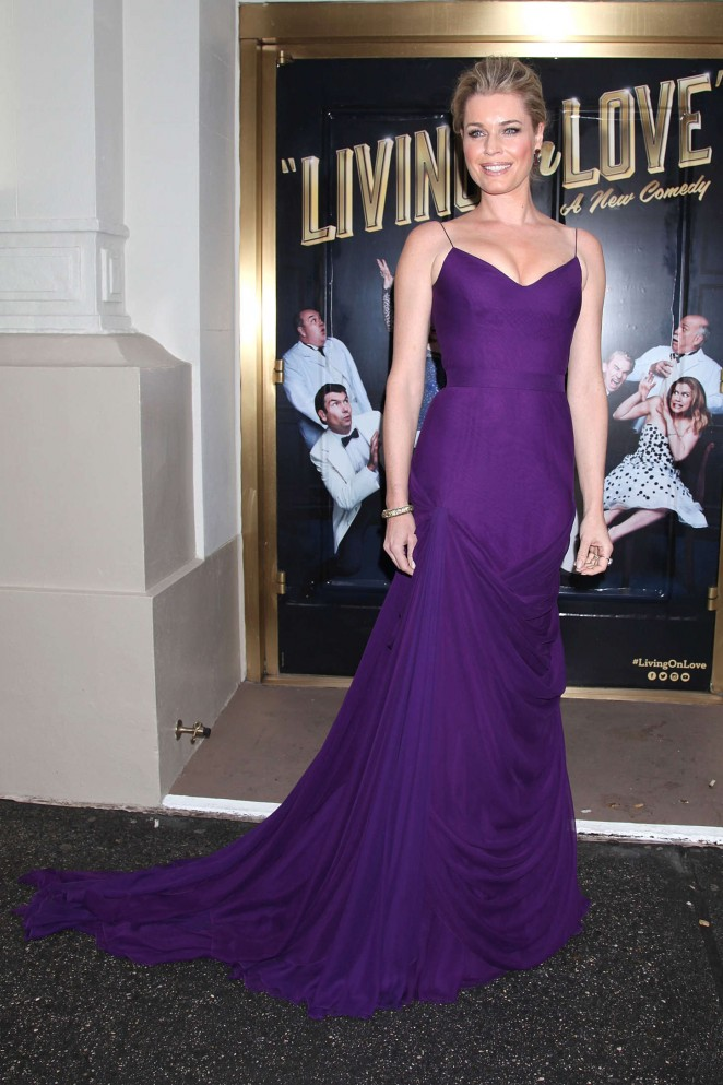 Rebecca Romijn: Living On Love Broadway Opening Night -16