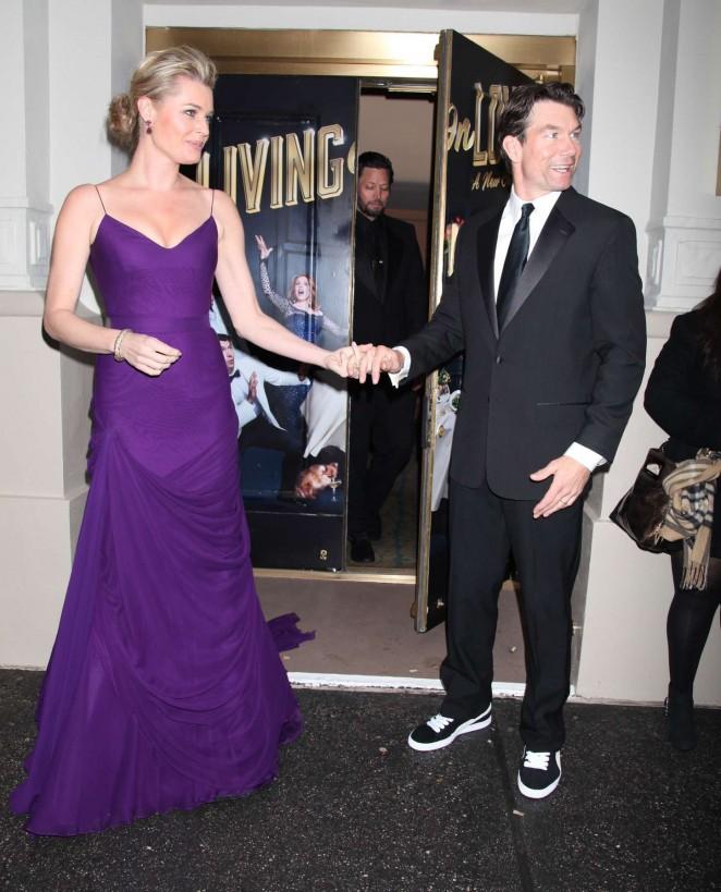 Rebecca Romijn: Living On Love Broadway Opening Night -18