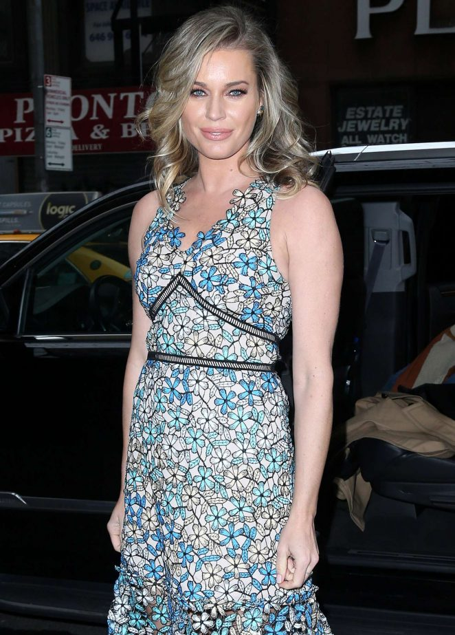 Rebecca Romijn on 'Today Show' in New York