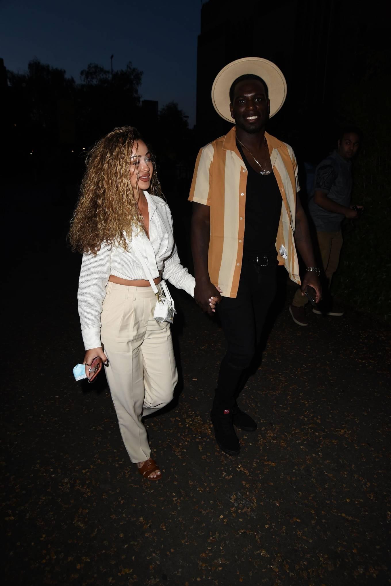 Rebecca Vieira 2021 : Rebecca Vieira – Arrives for Loki TV Show Premiere at Tate Modern – London-08