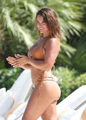 Rebekah Vardy in Bikini in Portugal