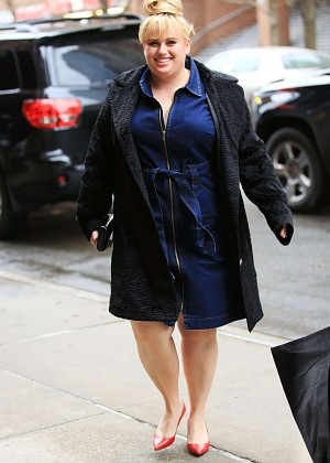 Rebel Wilson Arrives at the Today Show in New York