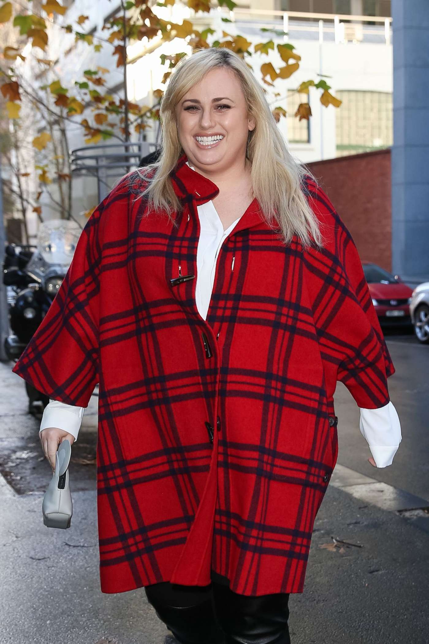 Rebel Wilson at Supreme Court in Melbourne