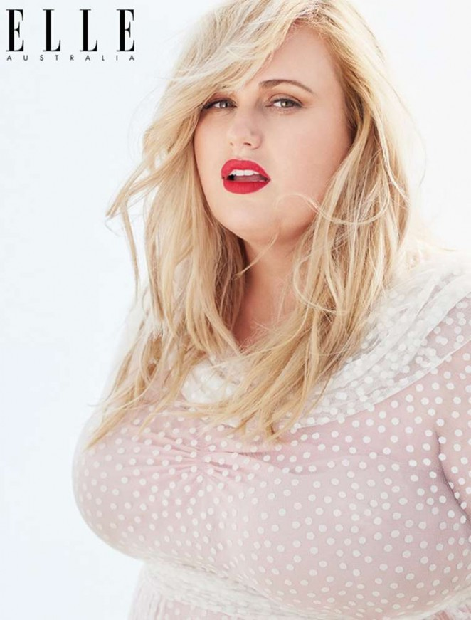 Rebel Wilson - ELLE Australia Magazine (April 2015)