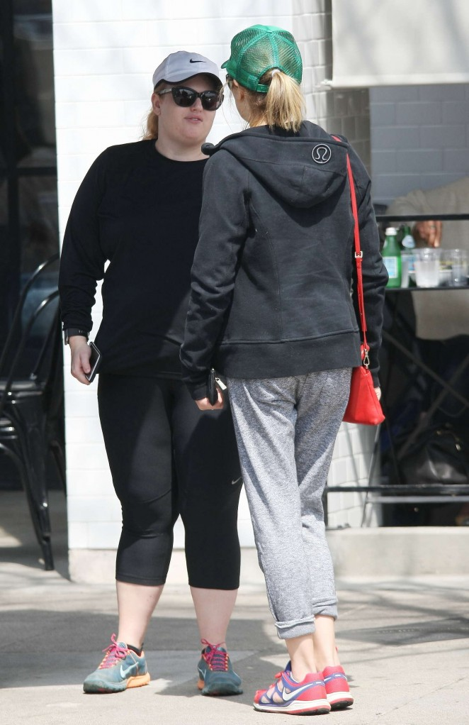 Rebel Wilson in Tights at Joans on Third -10