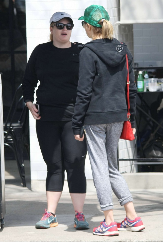 Rebel Wilson in Tights at Joans on Third -19