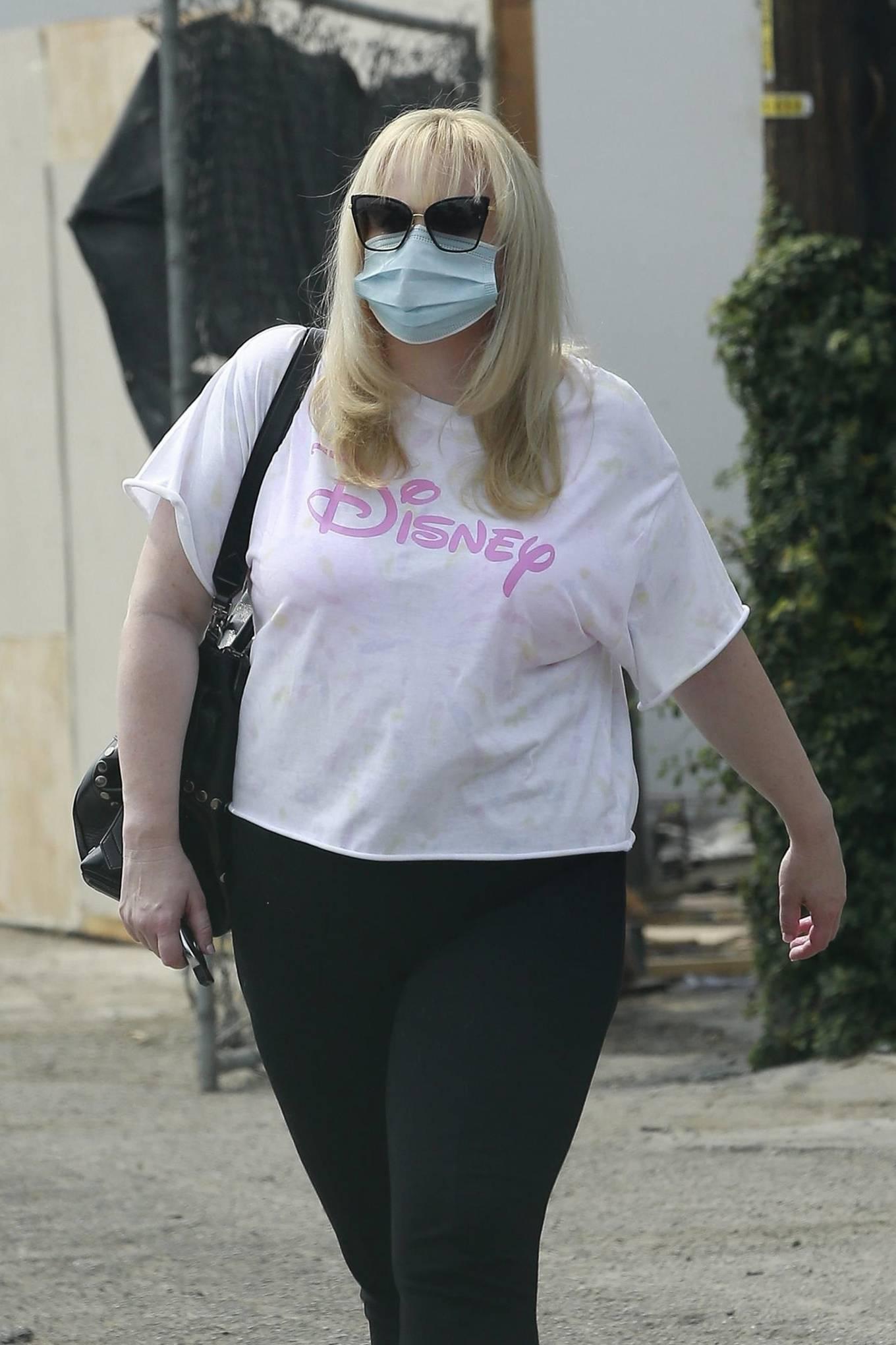 Rebel Wilson - Leaving a meeting in West Hollywood