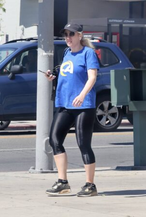 Rebel Wilson - Running errands in Los Angeles
