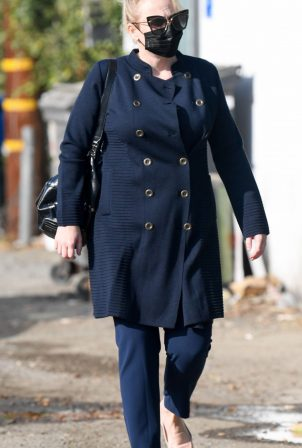 Rebel Wilson - Seen at a hair salon in West Hollywood